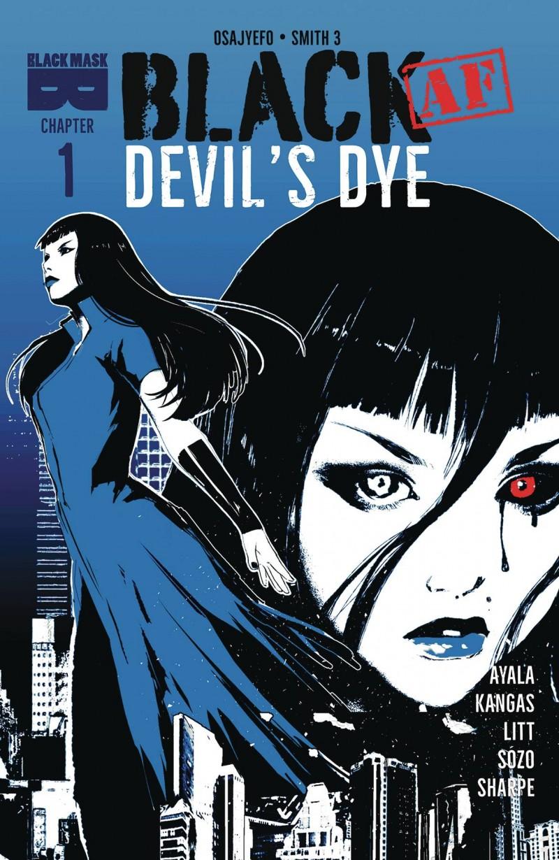 Black AF Devils Dye #1