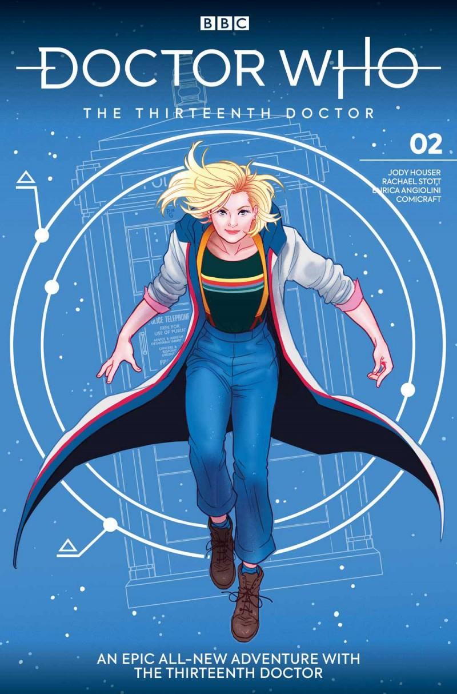 Doctor Who 13th #2 CVR A Ganucheau
