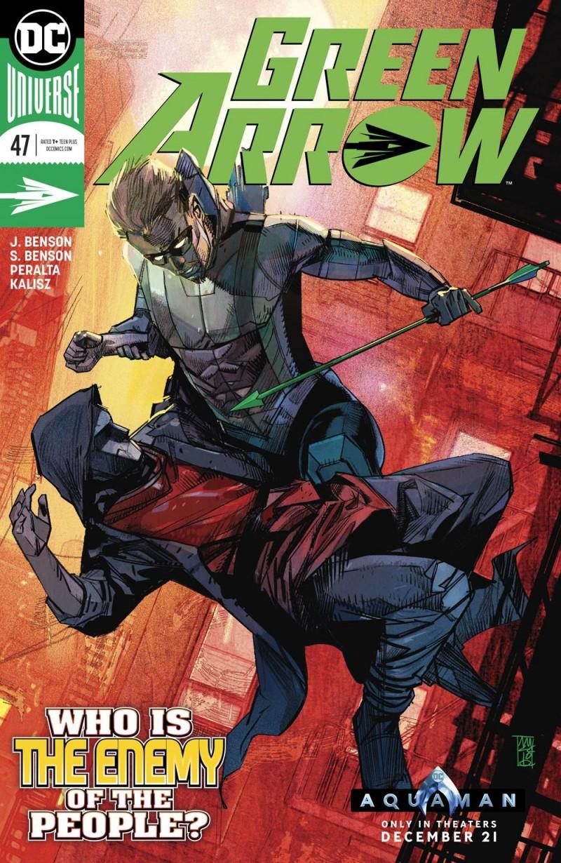 Green Arrow V7 #47 CVR A