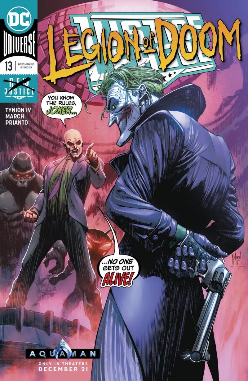 Justice League V3 #13 CVR A
