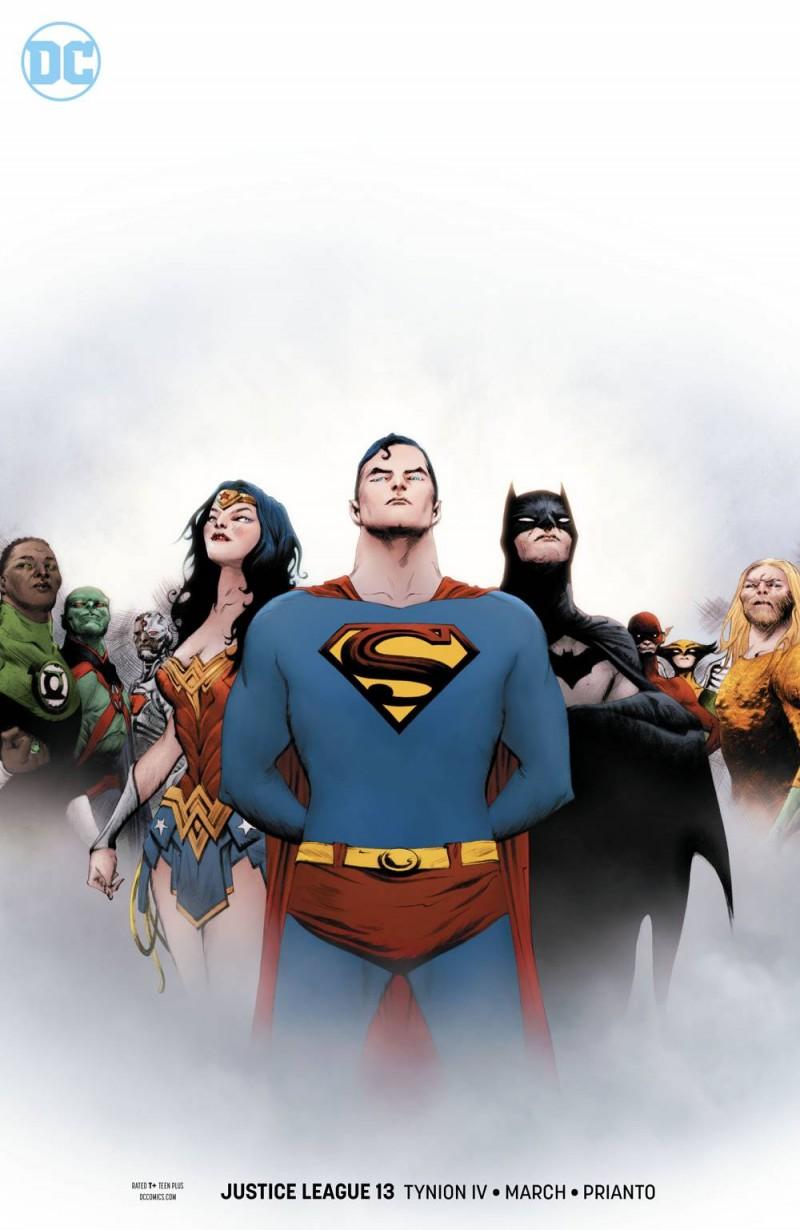 Justice League V3 #13 CVR B