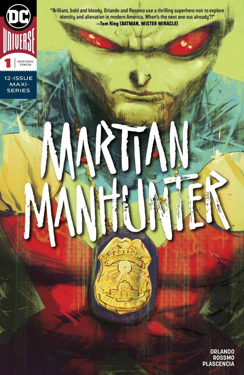 Martian Manhunter V5 #1 CVR A