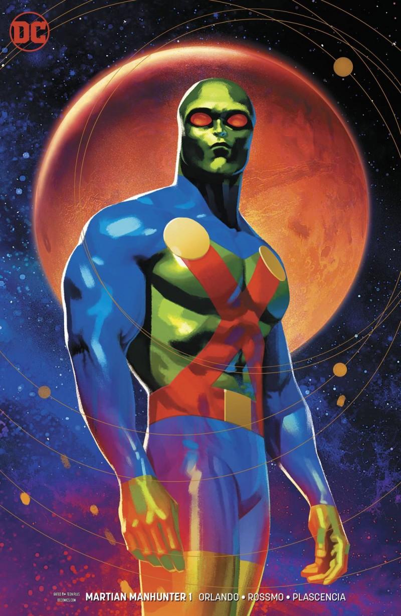 Martian Manhunter V5 #1 CVR B