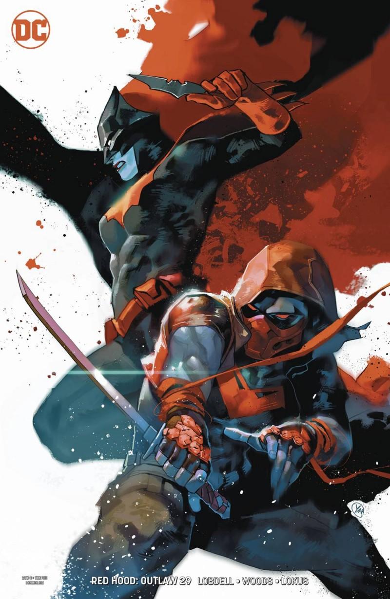 Red Hood Outlaw #29 CVR B