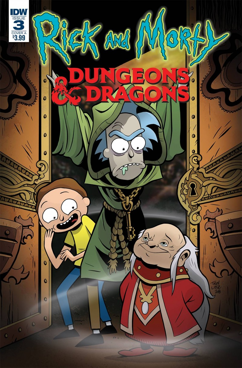 Rick and Morty Vs Dungeons and Dragons #3 CVR A