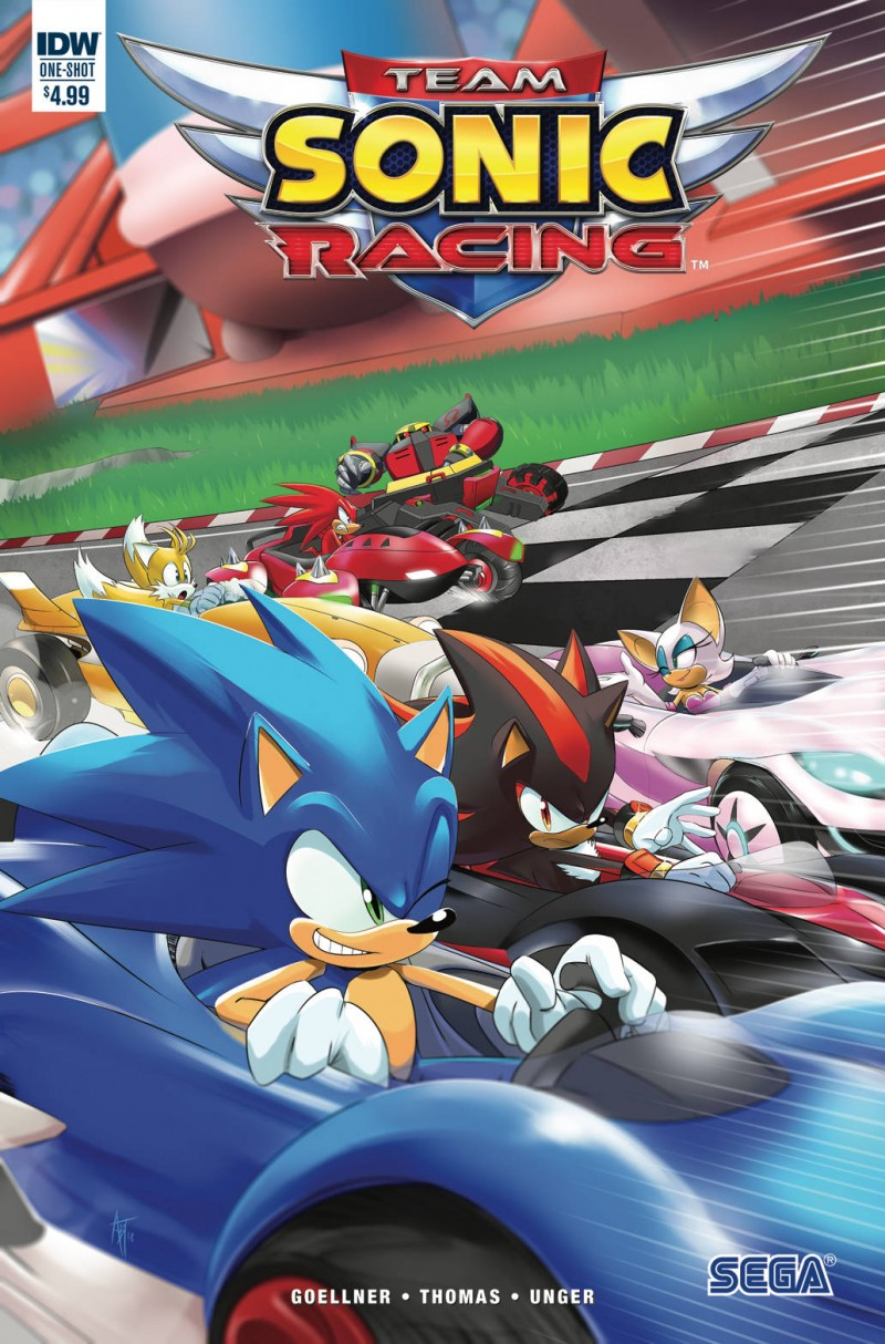 Sonic One-Shot Team Sonic Racing