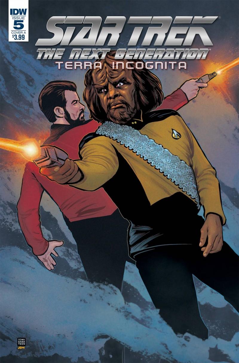 Star Trek TNG Terra Incognita #5 CVR A