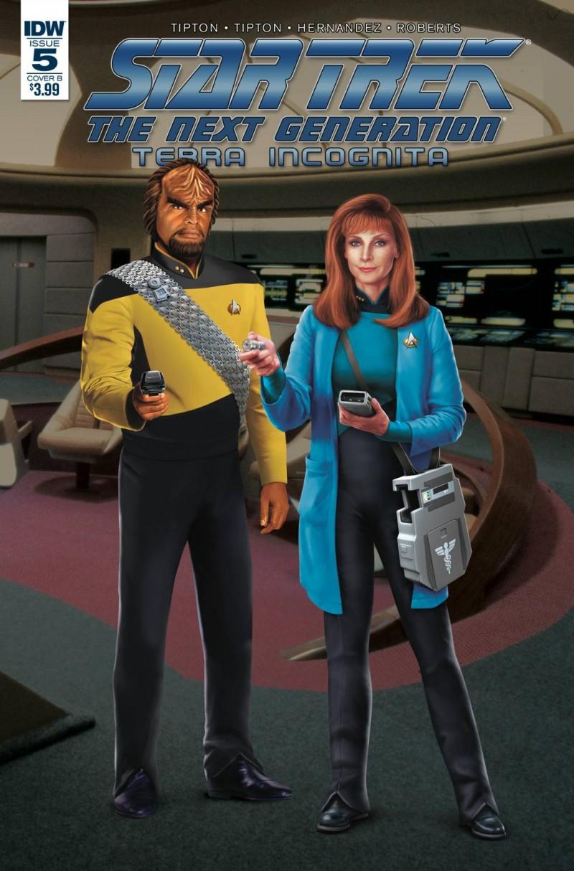 Star Trek TNG Terra Incognita #5 CVR B