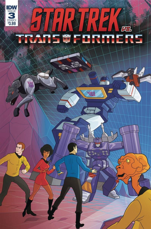 Star Trek Vs Transformers #3 CVR A Murphy