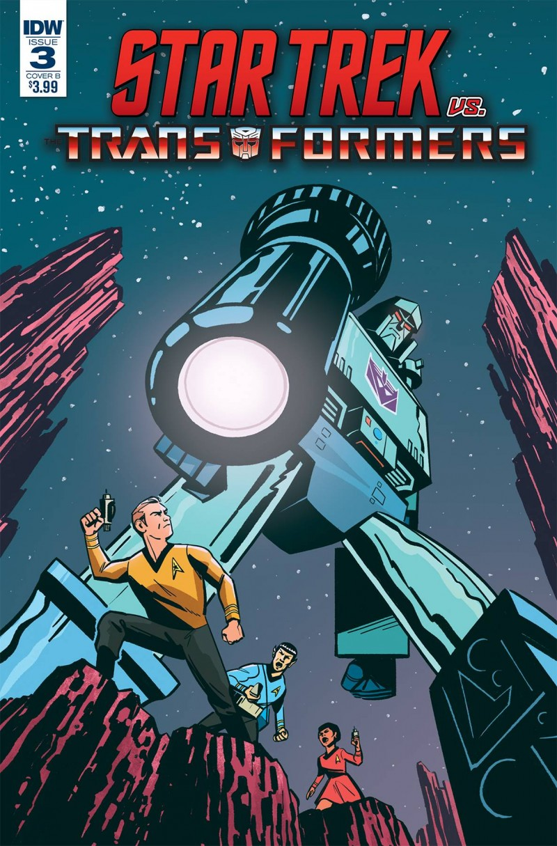 Star Trek Vs Transformers #3 CVR B Fullerton