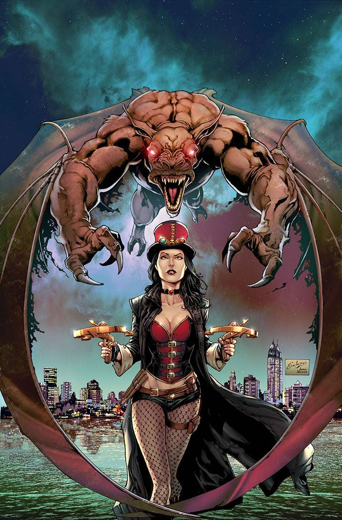 Van Helsing Sword of Heaven #2 CVR A Salazar