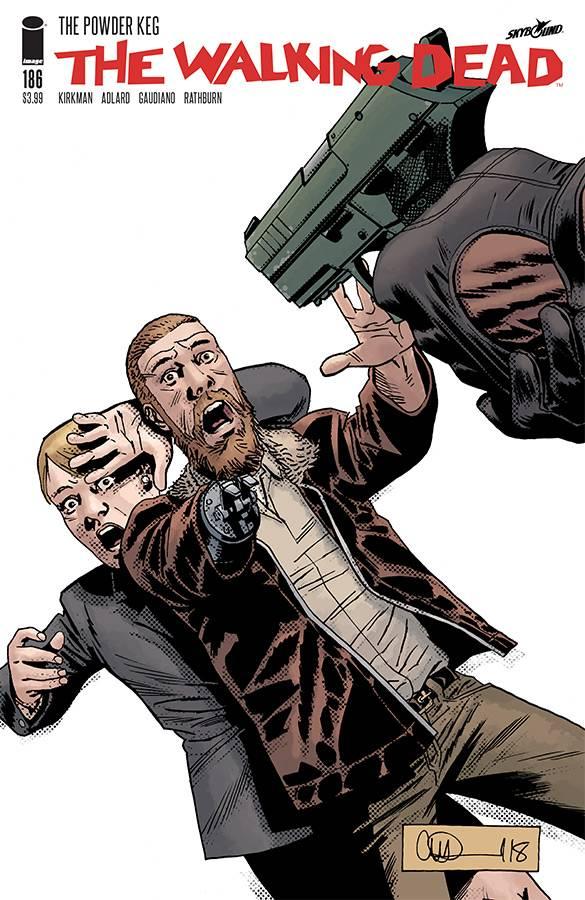 Walking Dead #186 CVR A Adlard