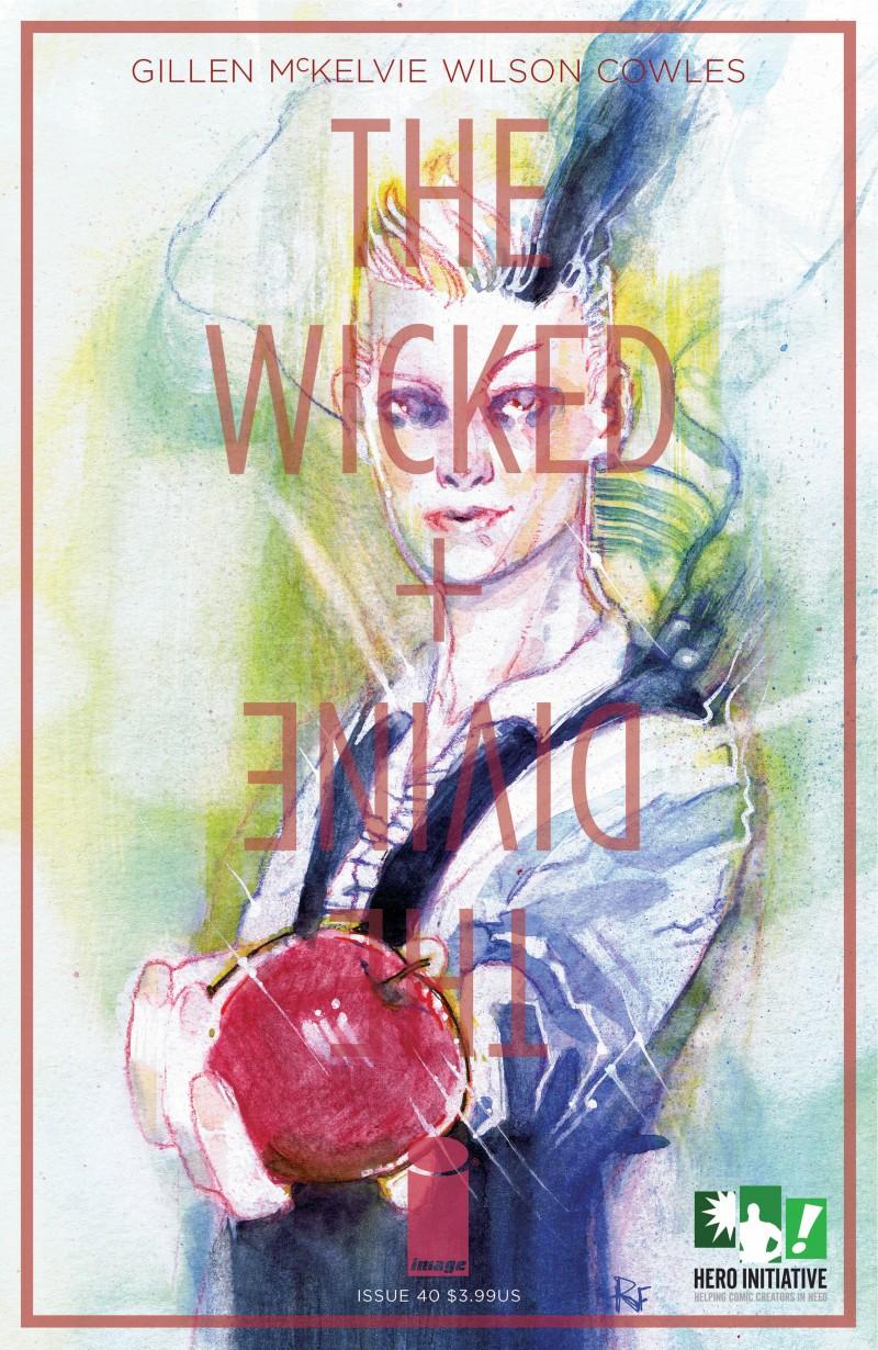 Wicked and Divine #40 CVR C Hero Initiative