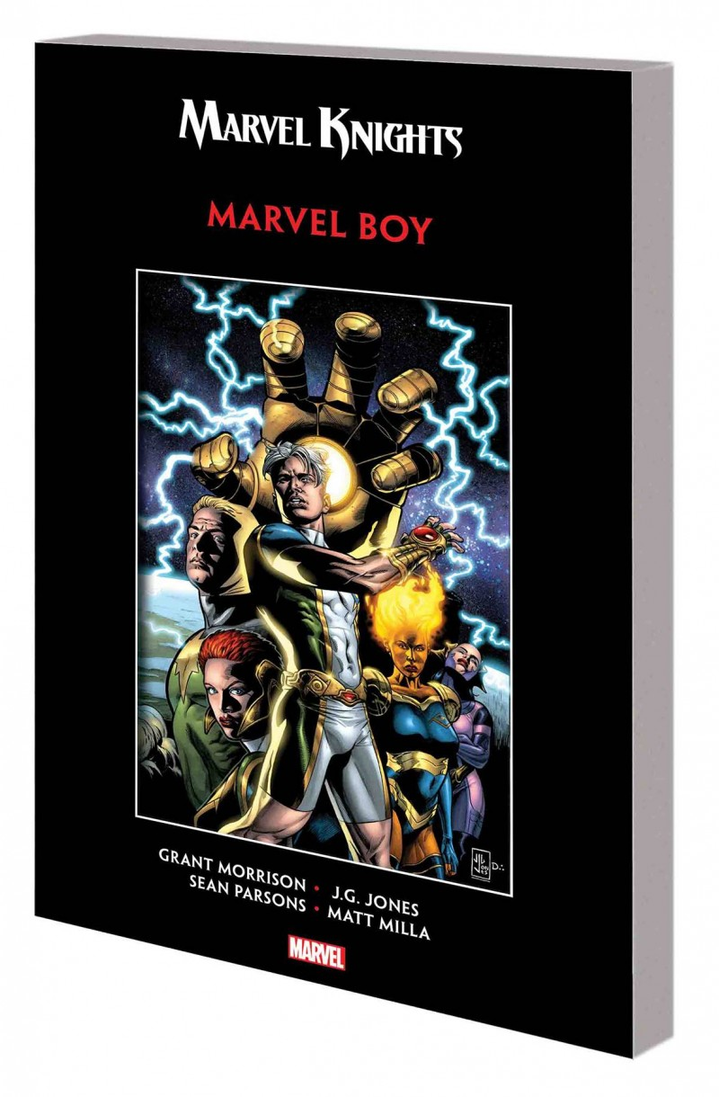 Marvel Boy TP Marvel Knights Edition