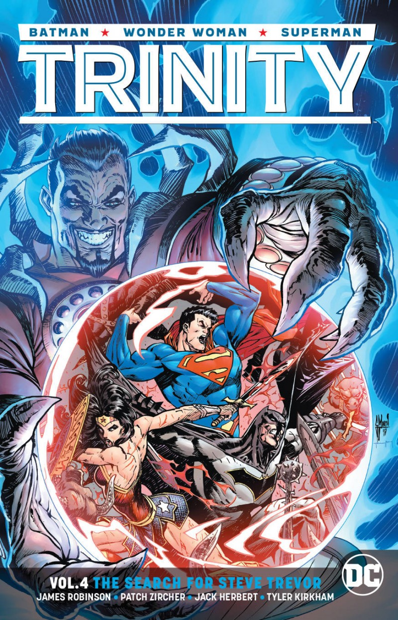 Trinity TP Rebirth V4 the Search for Steve Trevor