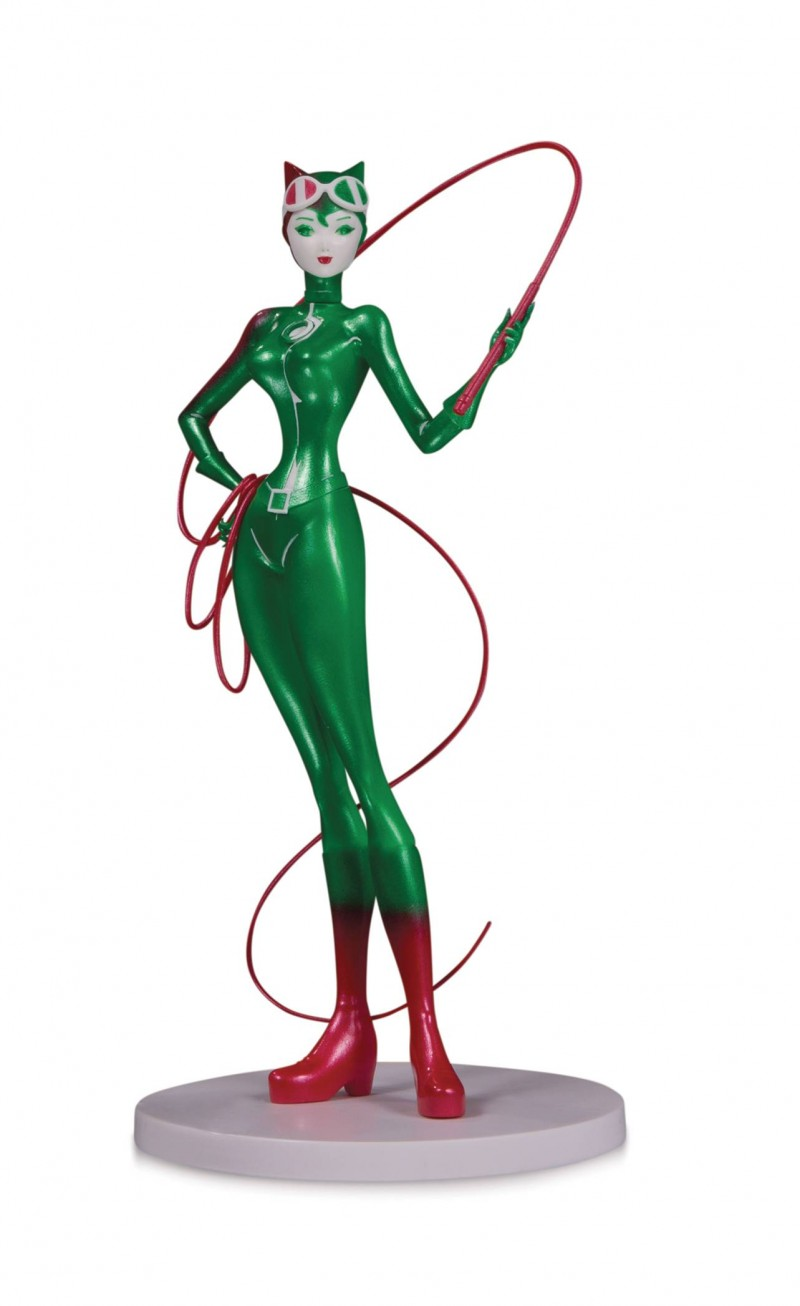 DC Direct Artist Alley Sho Murase PVC Figure Catoman Holiday Version