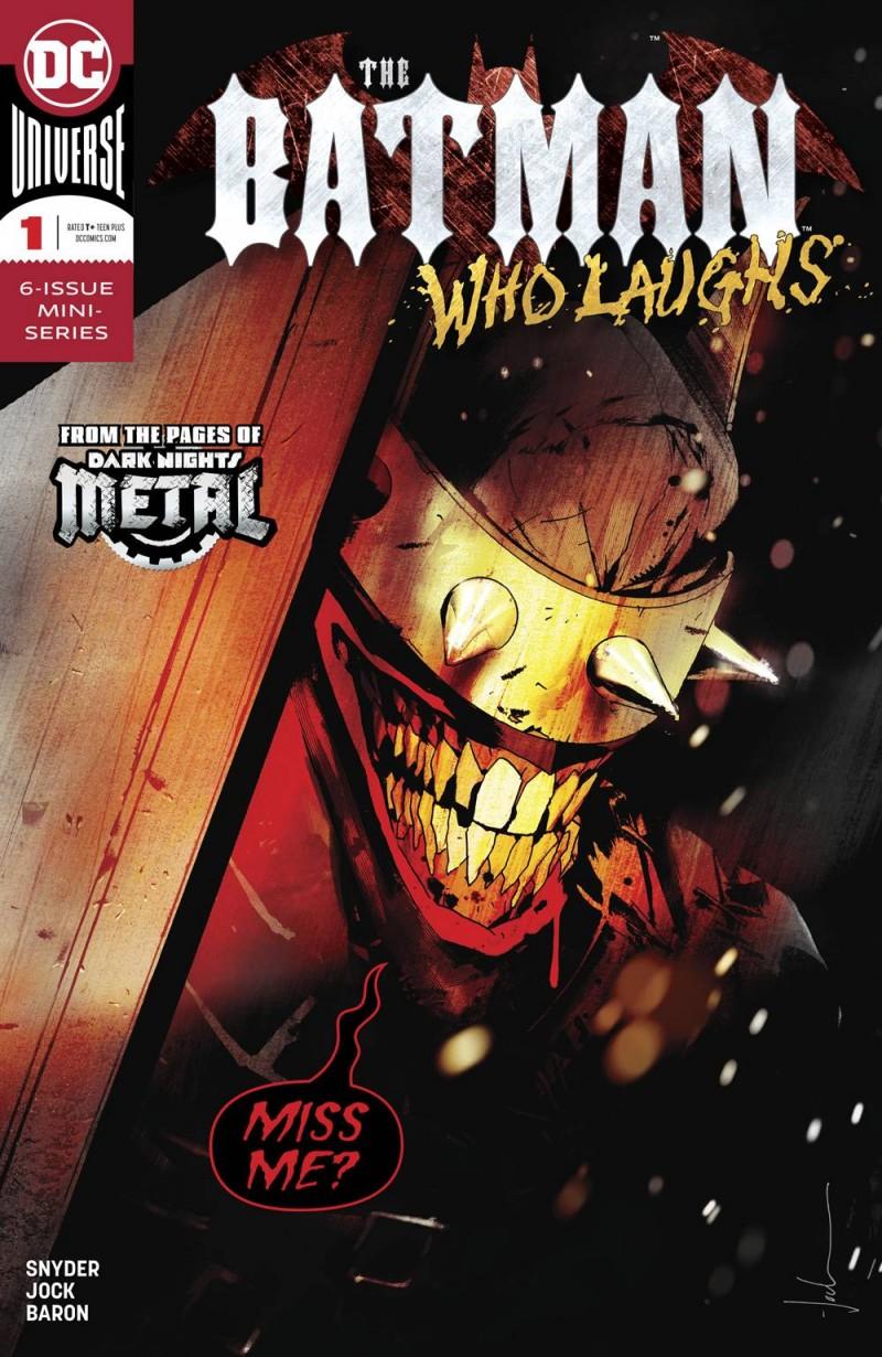 Batman Who Laughs #1 CVR A