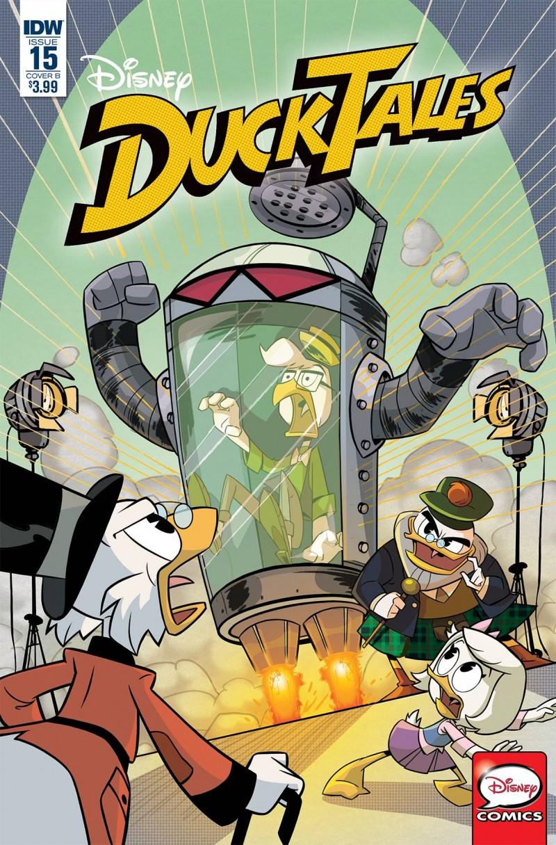 Ducktales #15 CVR B