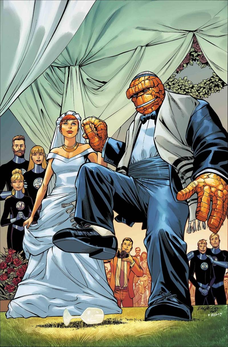 Fantastic Four Wedding Special CVR A Pacheco