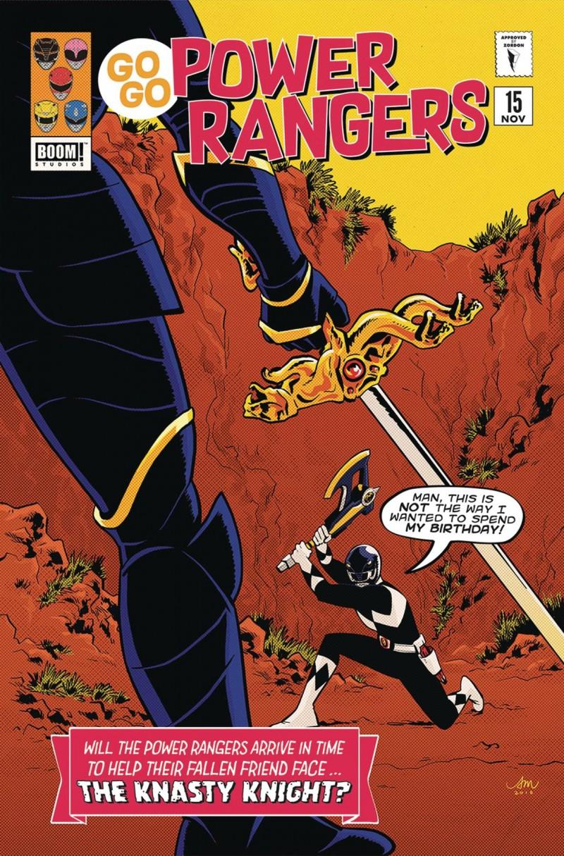 Go Go Power Rangers #15 CVR B