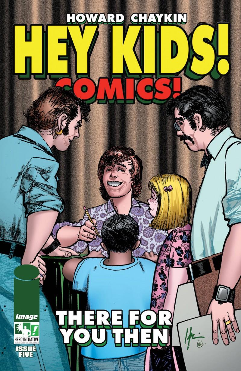 Hey Kids Comics #5 CVR B Hero Initiative