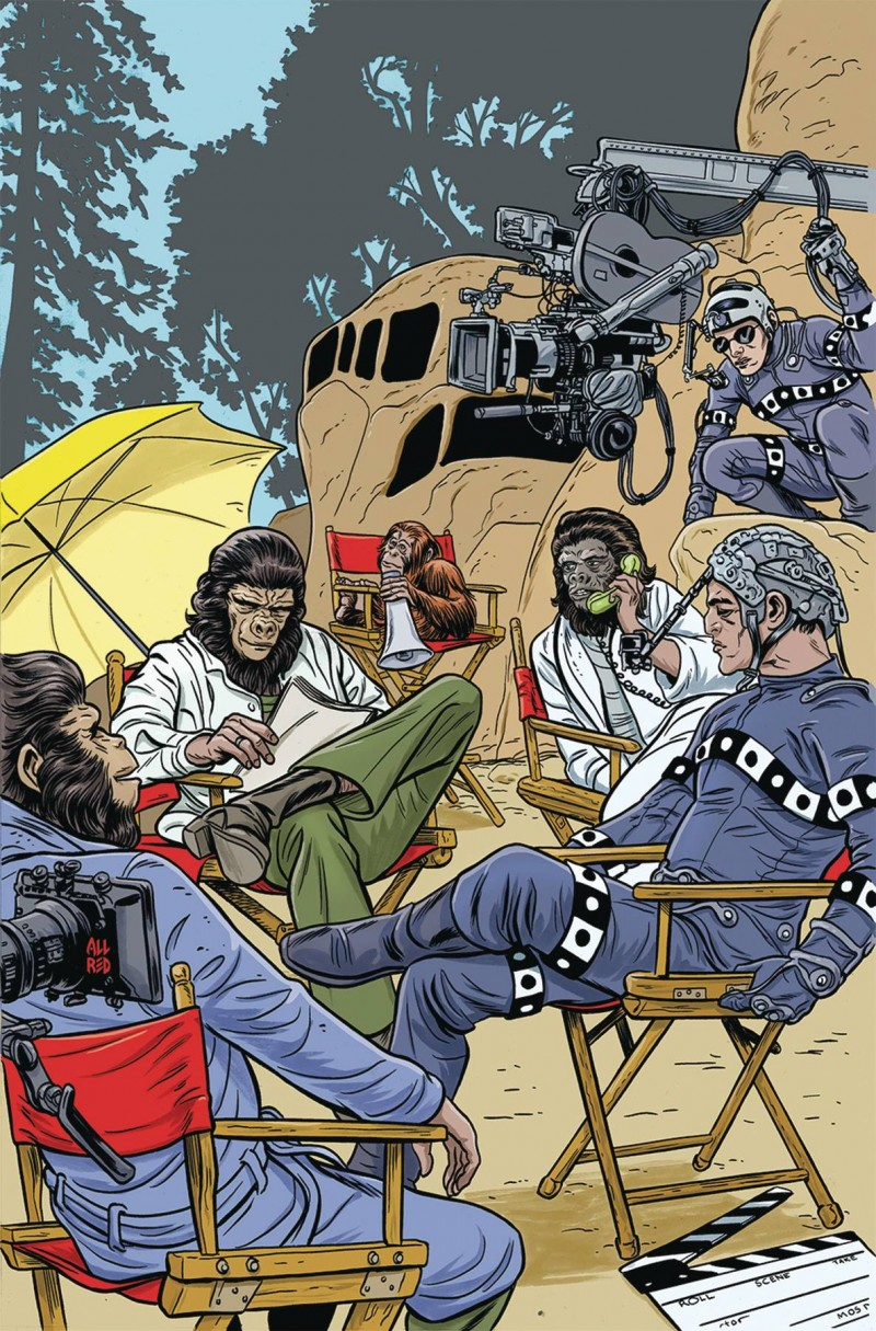 Planet of the Apes Simian Age #1 CVR B