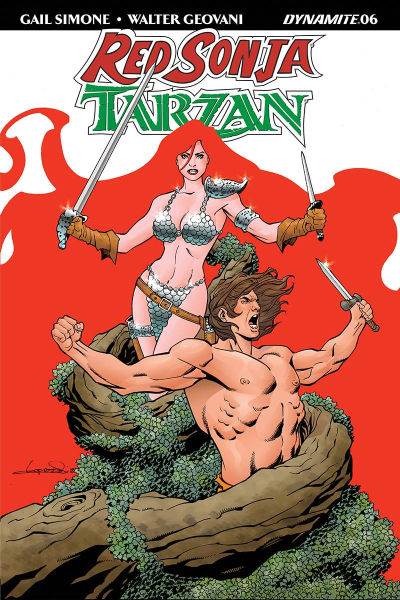 Red Sonja Tarzan #6 CVR C Lopresti