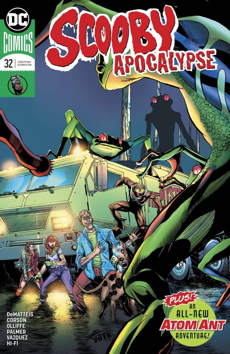 Scooby Apocalypse #32 CVR A