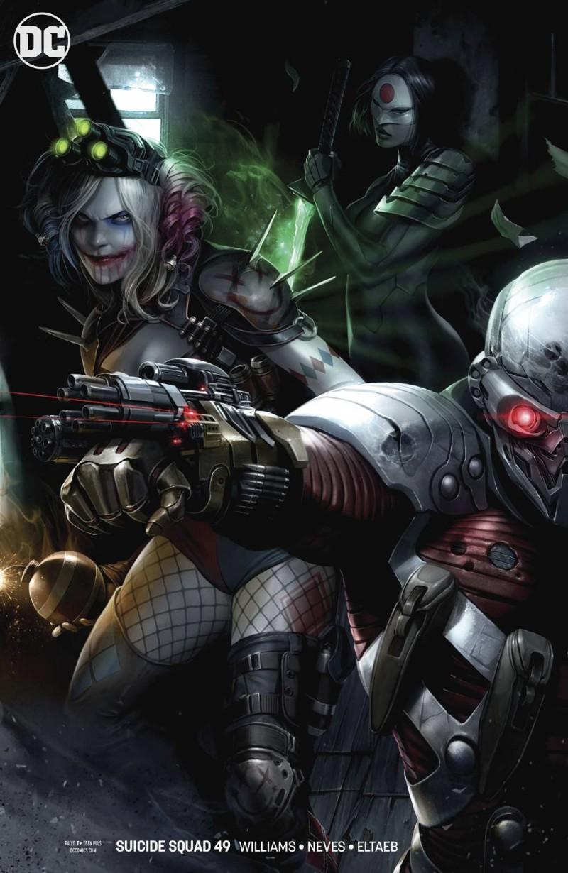 Suicide Squad V6 #49 CVR B