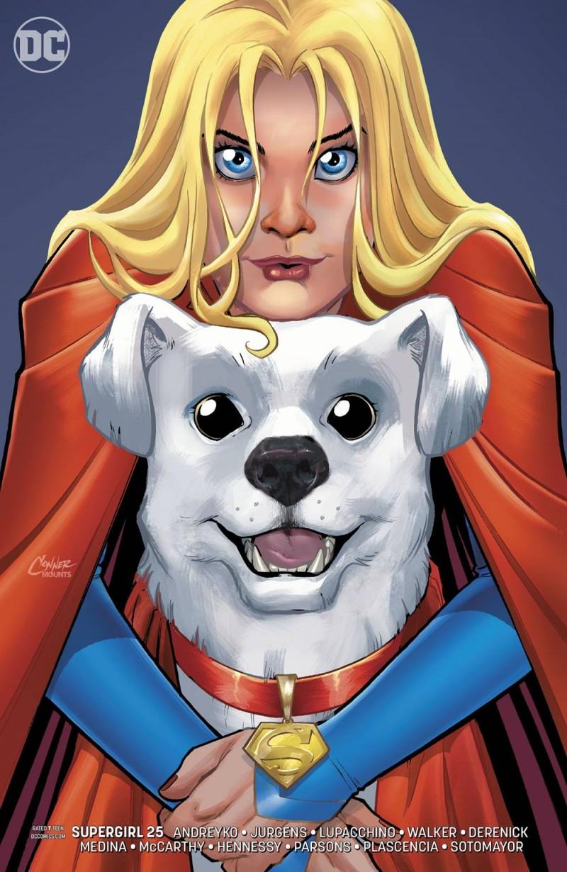 Supergirl V7 #25 CVR B