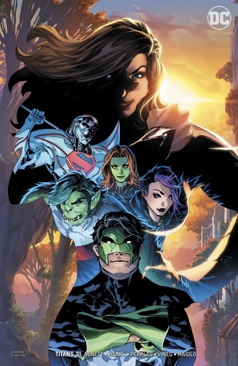 Titans V3 #31 CVR B