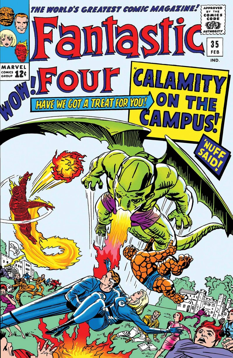 True Believers One-Shot Fantastic Four Dragon Man