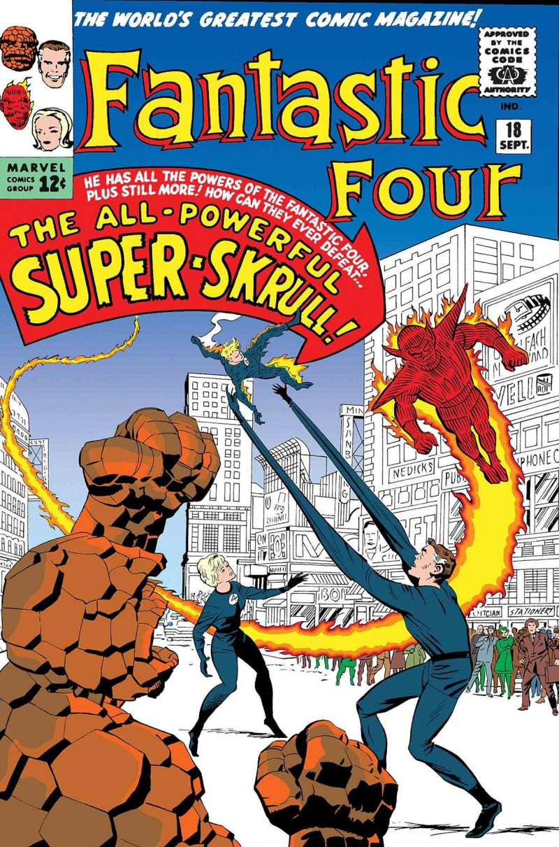 True Believers One-Shot Fantastic Four Super Skrull