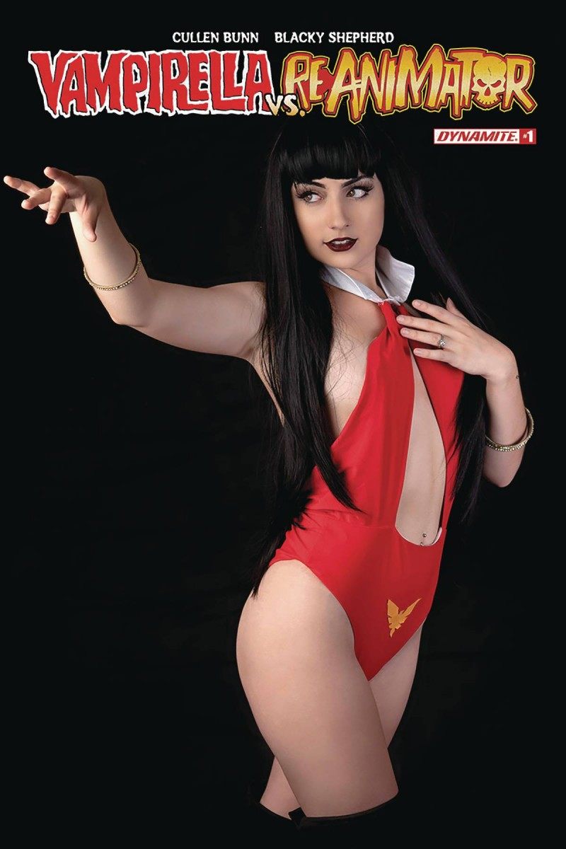 Vampirella Reanimator #1 CVR D Cosplay