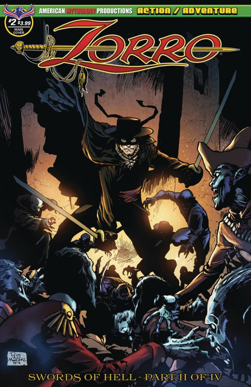 Zorro Swords of Hell #2