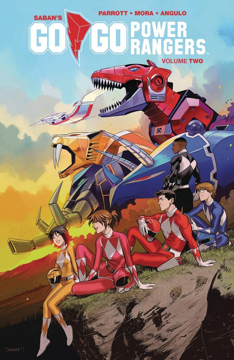 Go Go Power Rangers TP V2