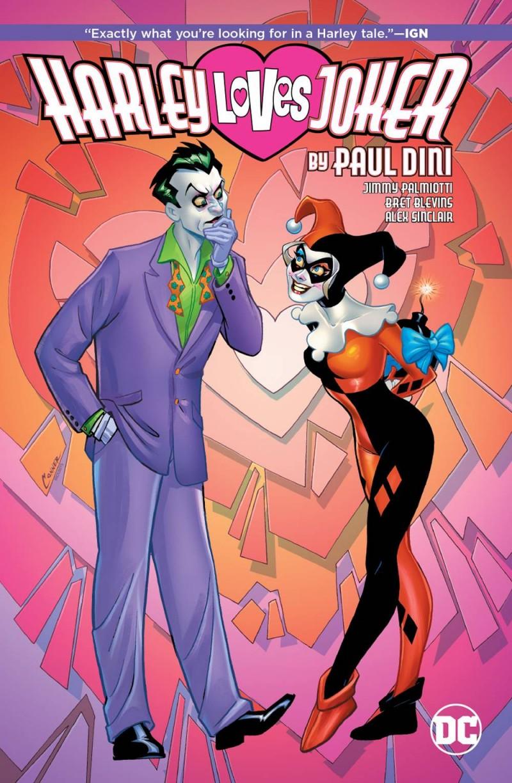Harley Quinn HC Loves Joker By Paul Dini
