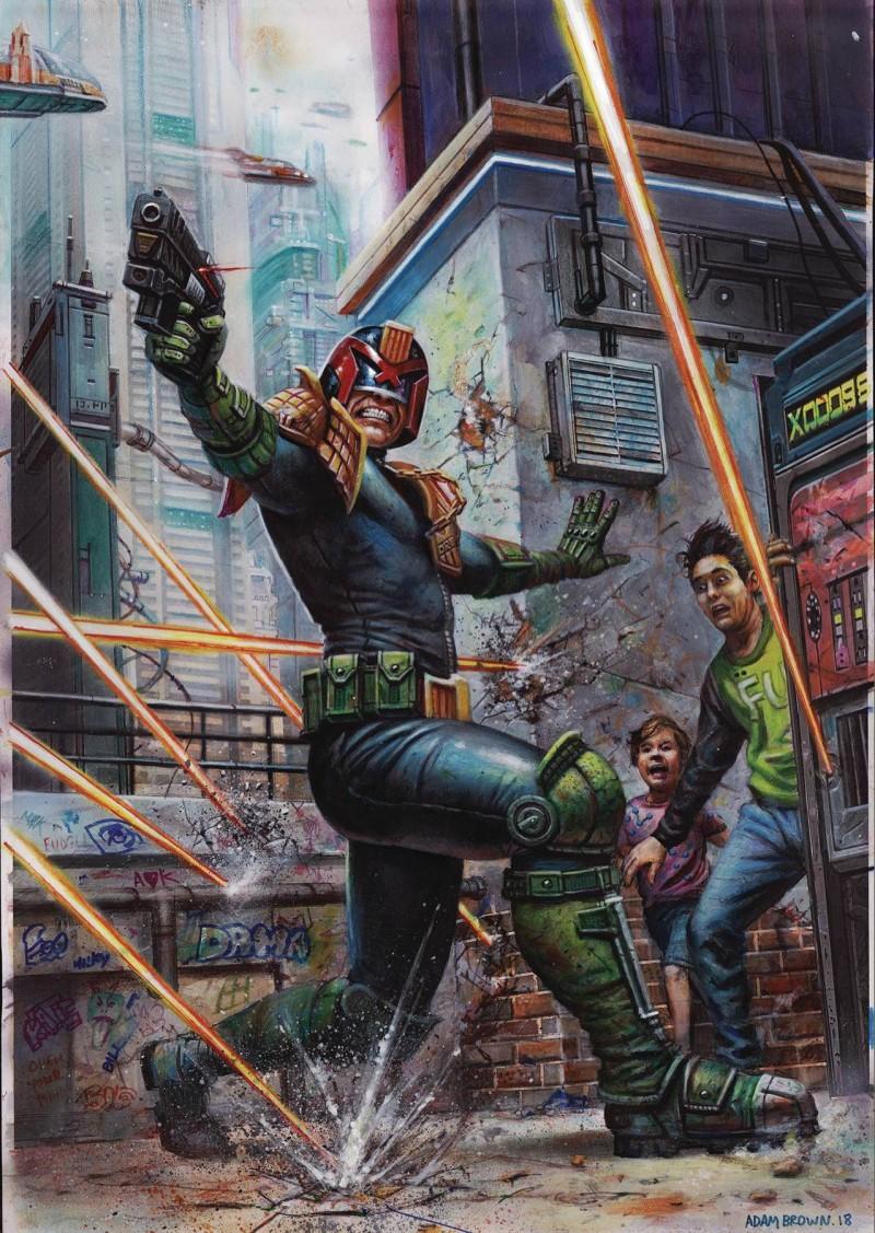 Judge Dredd Megazine #402
