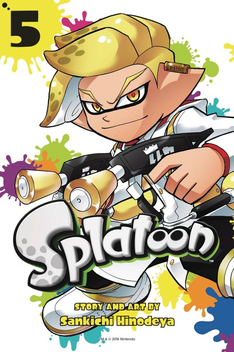 Splatoon Manga GN V5