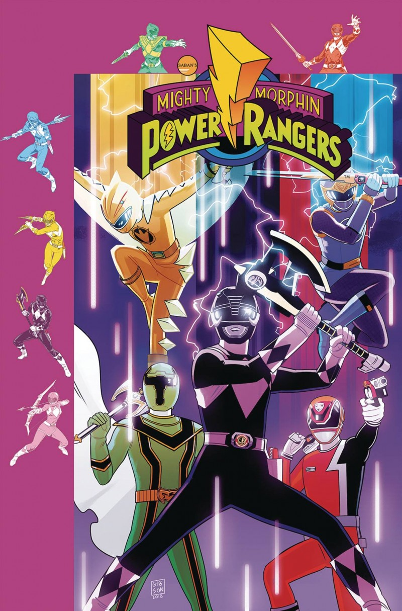 Mighty Morphin Power Rangers #34 CVR B