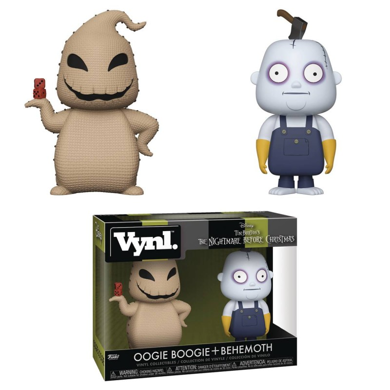 Vynl NBX 2-Pack Oogie and Behemoth