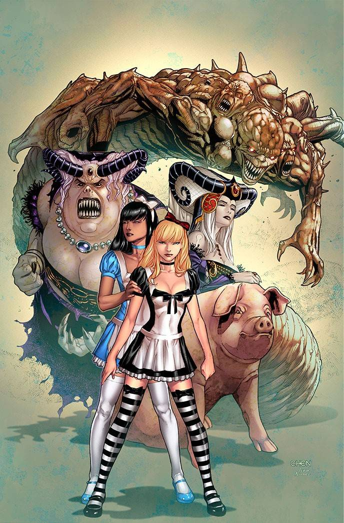 Revenge of Wonderland #6 CVR A Chen