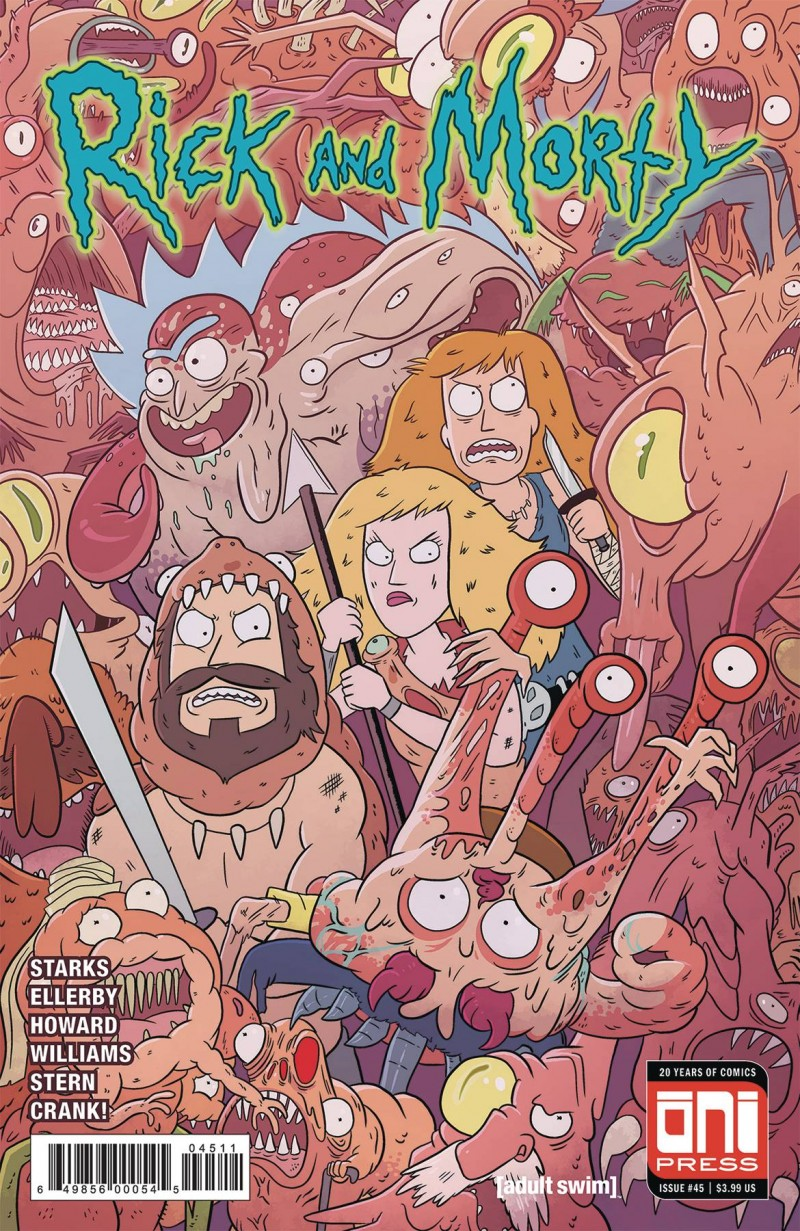 Rick and Morty #45 CVR A
