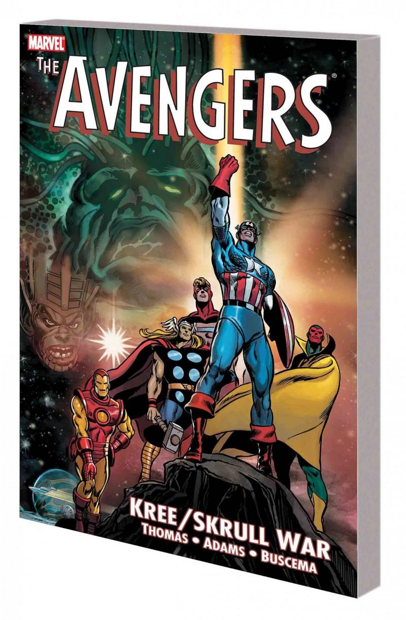 Avengers TP Kree Skrull War