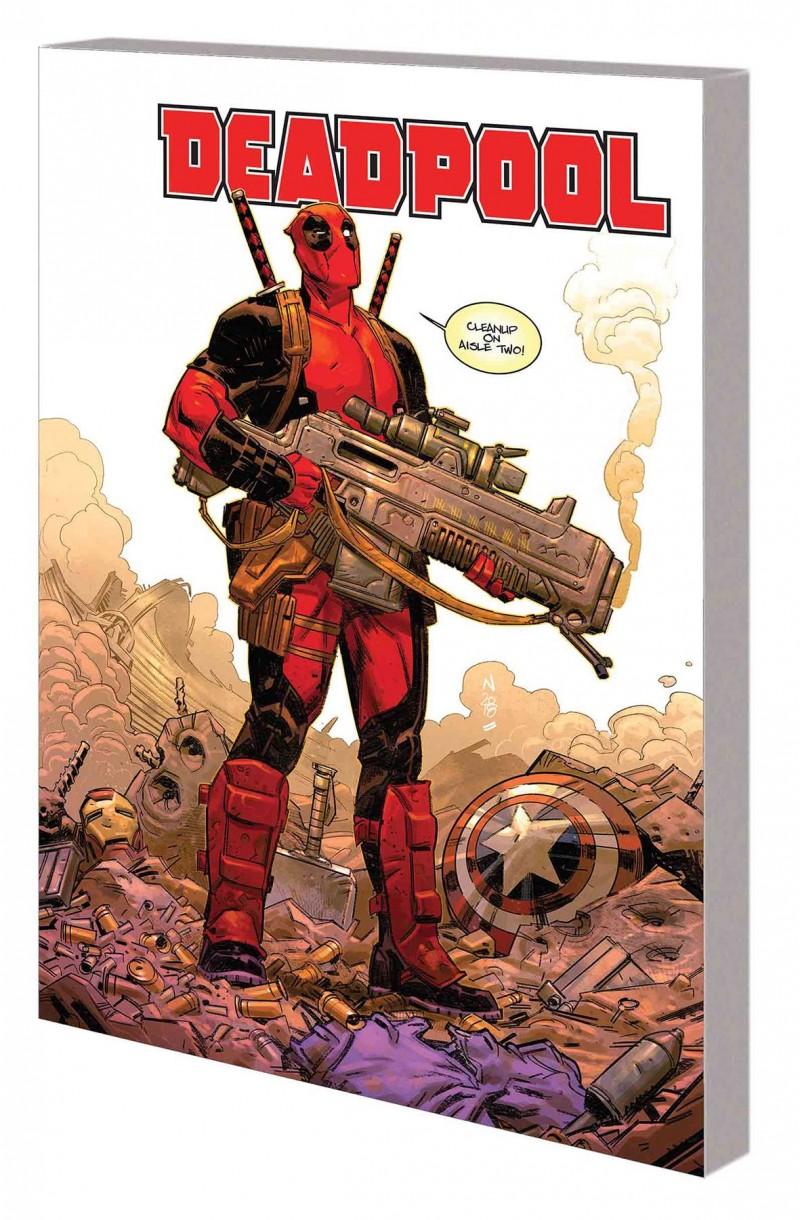Deadpool TP Skottie Young V1 Mercin Hard For Money