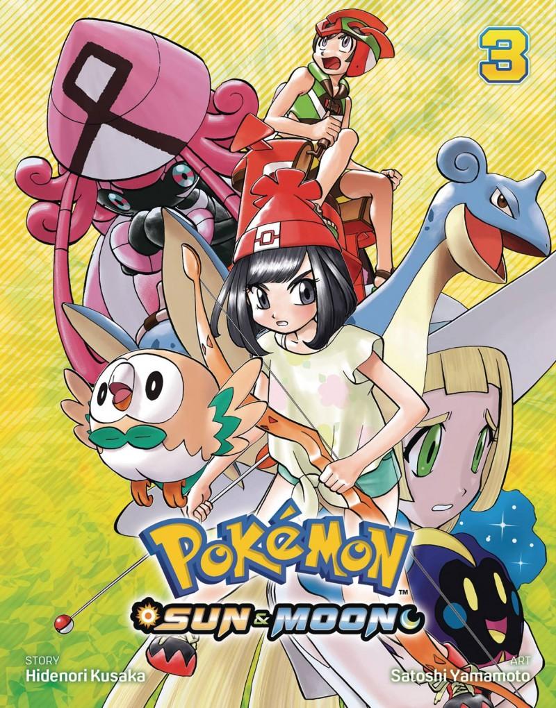 Pokemon GN Sun and Moon V3