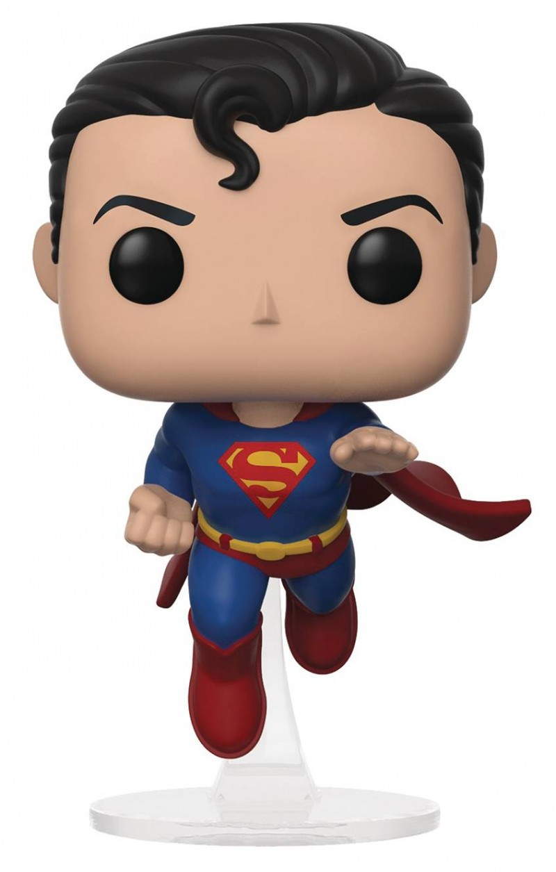 Funko Pop Specialty Series Flying Superman 80th Anniversary Edition