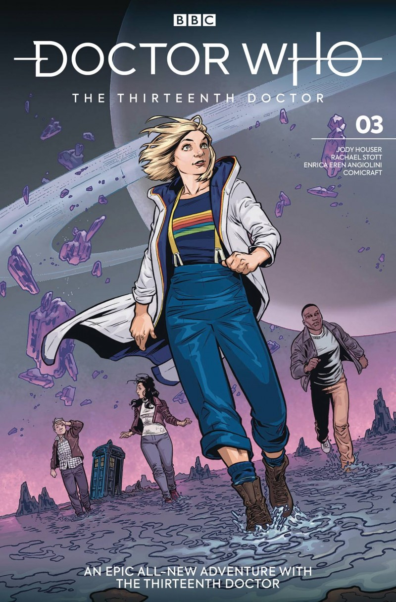 Doctor Who 13th #3 CVR A Isaacs