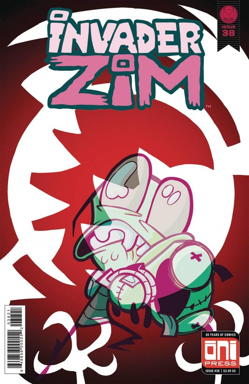 Invader Zim #38 CVR B