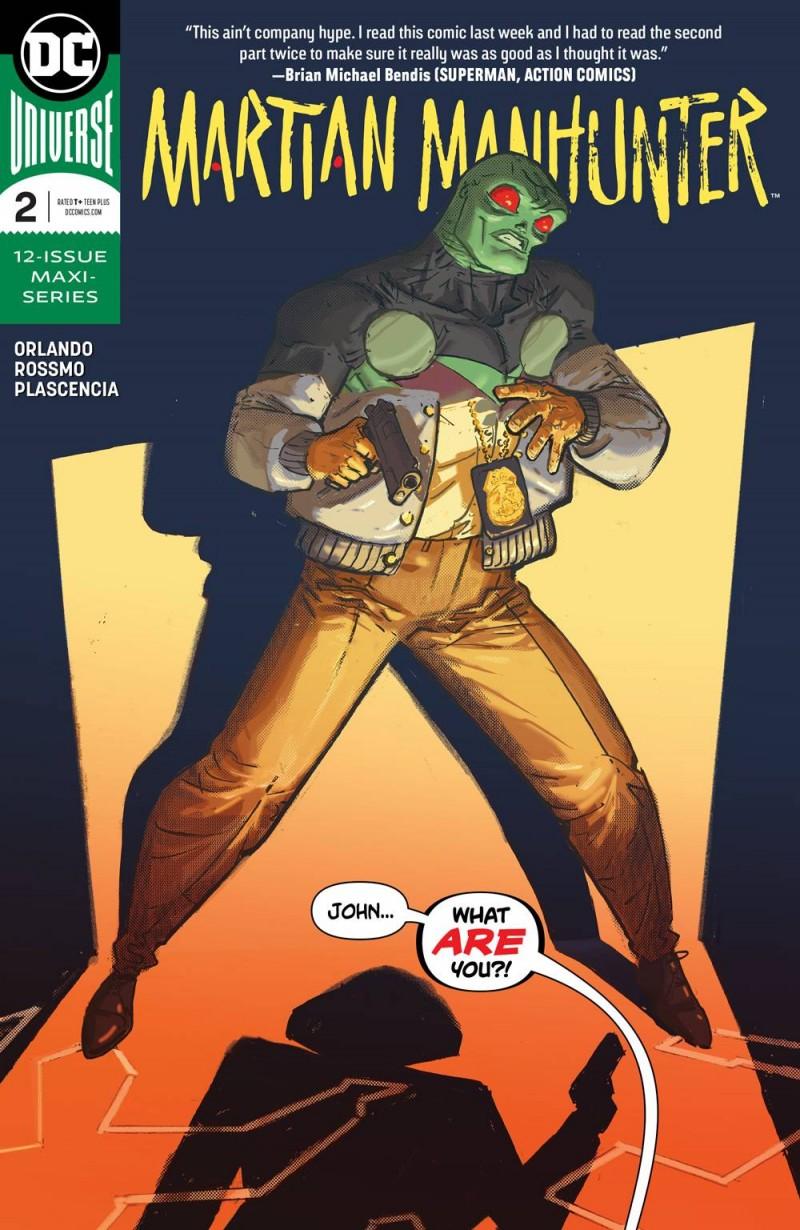 Martian Manhunter V5 #2 CVR A